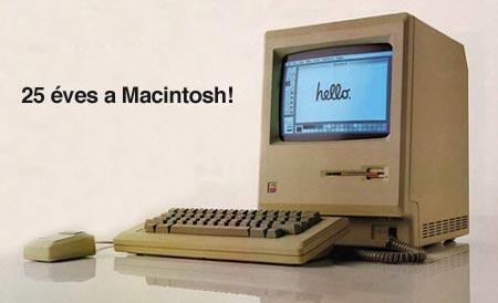 25 éves Mac!