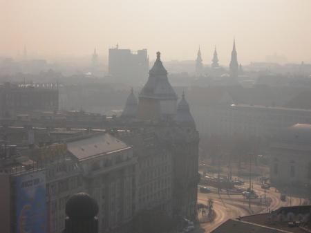Szmog Budapesten