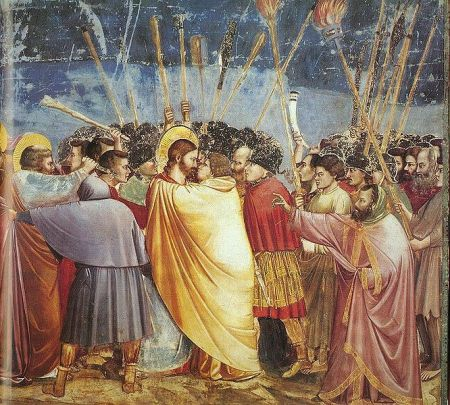 Giotto Scrovegni Kiss of Judas
