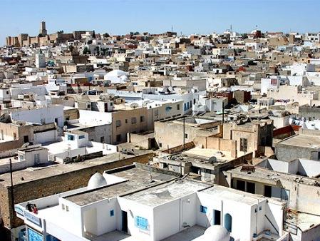 Tunisz látképe