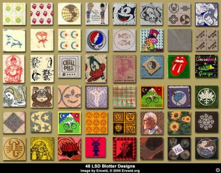 Az LSD-s bélyeg