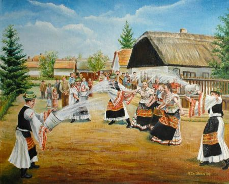 H Czekmány Ilona - Húsvéti locsolás
