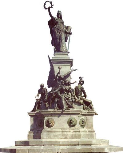 A szoborcsoport