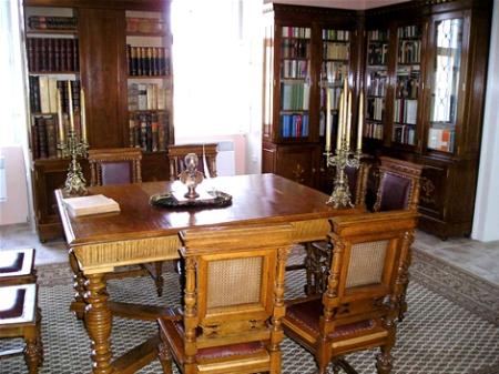 Könyvtárszoba