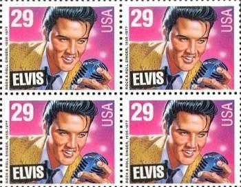 Elvis bélyegen